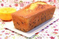 cake à l'orange et pépites de chocolat