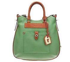 Dooney & Bourke Teardrop Hobo... Lovin' the green color :)
