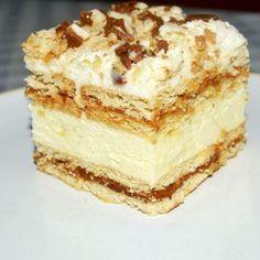 Ciasto kinder bueno z krówką Masa bueno 400 ml śmietanki 30%, 250 g serka mascarpone, 2 łyżki miodu, 2,5 łyżki masła,...