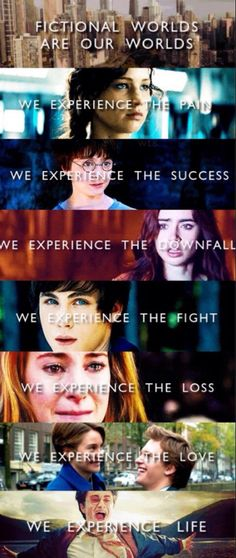 The Hunger Games - Harry Potter - The Mortal Instruments - Percy Jackson - Divergent - The Fault In Our Stars