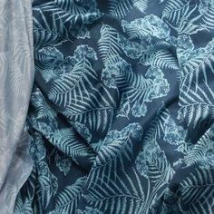Sportswear Wicking Fabric - Aerated Polyester Lycra - BLUE LEAF, 150cm wide, per metre