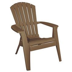 Plastic Adirondack Chairs Lowes, Nice Touch for Your Room : Corp Amesbury Brown Adirondack Chair At Lowes Polywood Adirondack Chairs, Adirondack Chairs For Sale, Lawn Chairs, Outdoor Chairs, Outdoor Spaces, Plastic Garden Furniture, Used Chairs, Painted Chairs, Home Plans