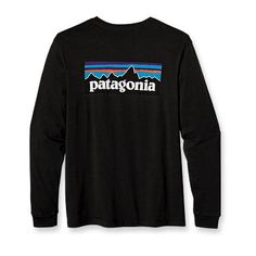 Patagonia Men's Long-Sleeved P-6 Logo T-Shirt