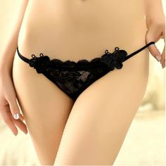 5d33092316b6e 2 pieces lot lace women s underwear sexy see - through panties Lace Sex G  String  5.00