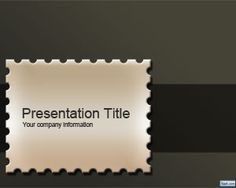 Seal PowerPoint Template is a free seal template for PowerPoint presentations that has a seal image in the slide design for presentations on postal mail or mailing Simple Powerpoint Templates, Powerpoint Presentations, Slide Design, Minimal Design, Layout Design, Seal, Projects To Try, Cards Against Humanity, Nhk