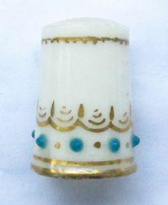 Porcelain Victorian Thimble No Reserve Vintage Antique China Worcester | eBay / Feb 26, 2014 / GBP 77.99