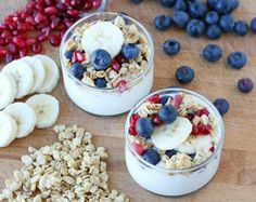 yoghurt fruit kokos lunch vegetarisch