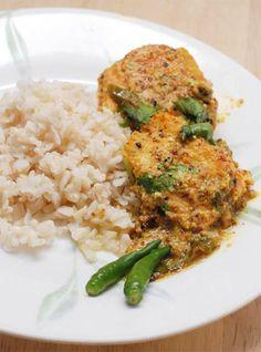 Salmon Jhaal- Bengali style