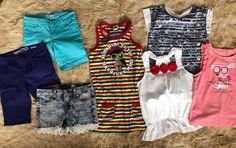 Girls Summer LOT Shirts Tops Swim Coverup ZARA GAP HARAJUKU MINI Size 8 #GapGymboreeHARAJUKUZara #Everyday