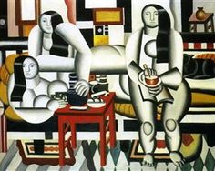 The Breakfast, 1921. By Fernand Leger (French 1881-1955).