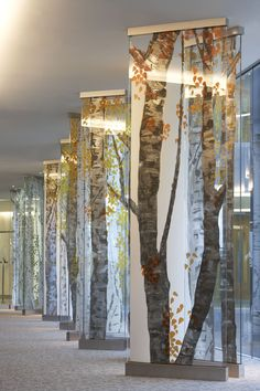 We designed and manufactured the glazing system to cater for a triple glazed edg. - Room decor - We designed and manufactured the glazing system to cater for a triple glazed edge-illuminated glass - Screen Design, Wall Design, Resin Furniture, Furniture Design, Office Furniture, Bibliotheque Design, Pinterest Design, Pinterest Pin, Glass Art