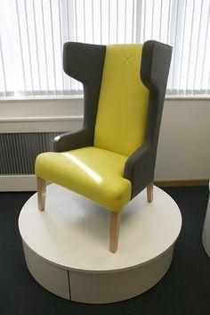 Izzey High Back Single Seater from Gresham Office Furniture