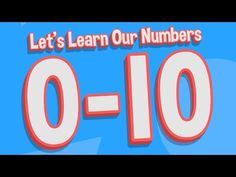 Let's Learn Our Numbers 0-10 | Counting Song for Kids | Jack Hartmann Writing Numbers - YouTube Writing Numbers, Math Numbers, Learning Numbers, Counting Songs For Kids, Kids Songs, Kindergarten Math Games, Math Activities, Morning Activities, Preschool Math