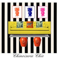 Chinoiserie Chic: Kate Spade, Martinique, and an Inspiration Board