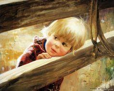Потрясающие картины беззаботного детства от Дональда Золана (31 картина)