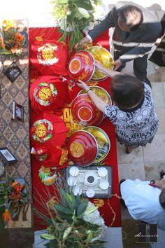 Vietnamese wedding altar