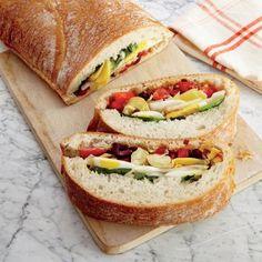 Summer Veggie Sandwich | CookingLight.com