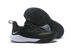 Nike Zoom Shift EP Black White Free Shipping-1 White Basketball Shoes cabae11fdb9f