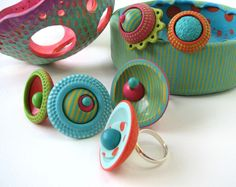 Con Tus Manos. Amazing what you can do with polymer clay