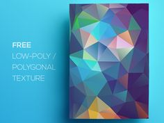 Free Polygonal / Low Poly Background Texture #89