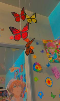 Indie Bedroom, Indie Room Decor, Cute Bedroom Decor, Room Design Bedroom, Aesthetic Room Decor, Room Ideas Bedroom, Chambre Indie, Hippy Room, Pastel Room