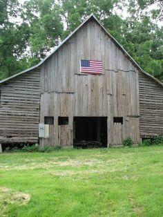 Barns make my heart smile.