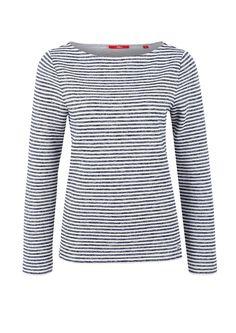 Geringeltes Sweatshirt von s.Oliver. Entdecken Sie jetzt topaktuelle Mode für Damen, Herren und Kinder und bestellen Sie online.