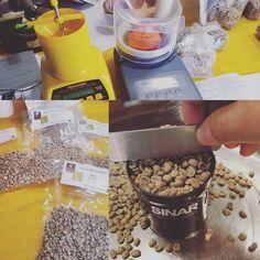 Here at #CoffeeTrainingAcademy in #Verona we love to #play with tools. We love to approach in a scientistic way what we teach every single days. #comparison - Qui in Accademia amiamo giocare con gli strumenti. Amiamo usare un approccio scientifico verso quello che insegnamo tutti i giorni. #comparazione