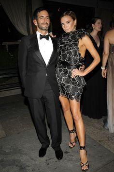 2008 CFDA Fashion Awards - @Marc Jacobs Intl and Victoria Beckham