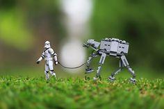 Yohanes Sanjaya's pet LEGO AT-AT