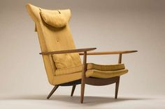 George Nakashima Lounge Chair | From a unique collection of antique and modern lounge chairs at http://www.1stdibs.com/furniture/seating/lounge-chairs/