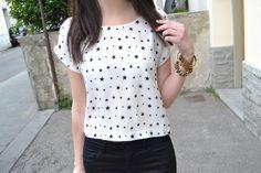 stars zara shirt