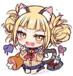 Himiko toga mha bnha toga hero academia characters, my hero Kawaii Chibi, Cute Chibi, Kawaii Anime, My Hero Academia Shouto, Hero Academia Characters, Anime Characters, Neko, Anime Art Girl, Anime Girls