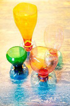 Vasos de juguete reciclados