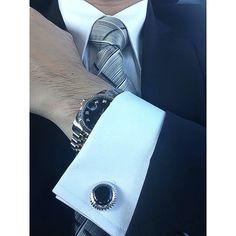 Elite & Luck Cufflinks Lookbook photo on Instagram @eliteandluck