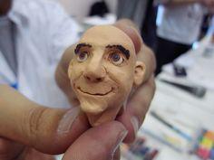 mini claymation portraits