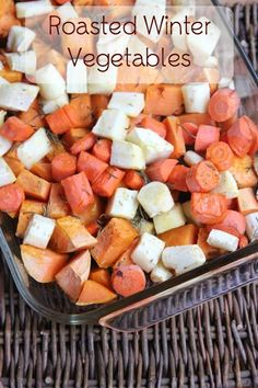 5 Ingredient Roasted Winter Vegetable Recipe | 5DollarDinners.com