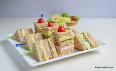 Mini sandvișuri pentru petrecerile copiilor sau de pus la pachețel. 3 rețete de sandvișuri gustoase și sănătoase preparate cu ingrediente Prosciutto, Starters, Bruschetta, Party, Food And Drink, Healthy Recipes, Toast, Cookies, Yum Yum