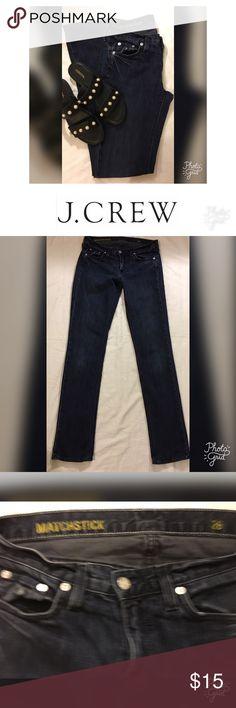 J Crew Matchsticks Jeans Size 26 J Crew Matchstick Jeans Size 26 J. Crew Jeans Straight Leg