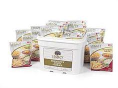 120 Serving Gluten Free Entree Bucket