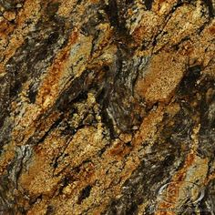 Magma Gold granite is a natural stone that could be used for kitchen countertop surfaces. Quartz Bathroom Countertops, Granite Countertops Colors, Granite Colors, Granite Slab, Granite Kitchen, Kitchen Countertops, Kitchen Backsplash, Kitchen Cabinets, Kitchen Tops
