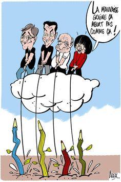 """""""Même en hiver, les crayons repoussent ! #CharlieHebdo"""""""