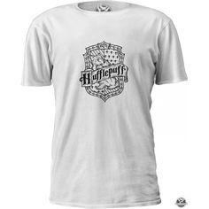 c485a732a Camiseta Harry Potter Hogwarts Lufa-Lufa Emblema Masculino Feminino  Infantil Gola V Babylook Camisa Blusa - CGC238723JJ