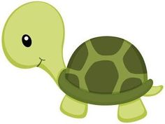 Little Green Turtle png y clipart Jungle Animals, Baby Animals, Cute Animals, Jungle Party, Jungle Theme, Green Turtle, Drawing For Kids, Baby Quilts, Cute Drawings