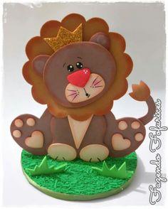 Foam Crafts, Craft Foam, Animal Crafts, Pet Gifts, Gift Bags, Gingerbread Cookies, Diy For Kids, Yoshi, Safari