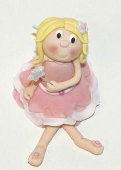 Fairy cake topper  www.littlecakecupboard.co.uk  www.facebook.com/littlecakecupboard