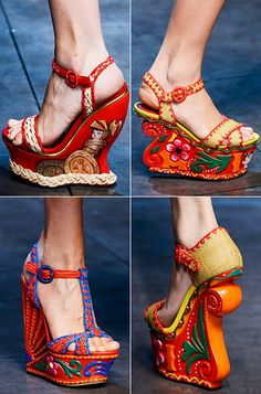 Dolce & Gabbana - Wow!  Maybe not to wear but to display as art.