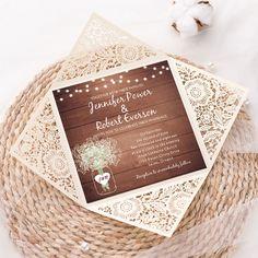 2021 Decor Trends: DIY Ideas for Rustic Wedding Arch Kraft Wedding Invitations, Bohemian Wedding Invitations, Floral Wedding Invitations, Wedding Themes, Wedding Ideas, Invites, Wedding Favors, Wedding Stuff, Wedding Arch Rustic