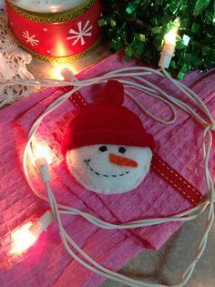 Felt snowman ,Christmas ornament
