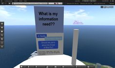 University of Hawaii, InfoLit Skydeck - Second Life 14 Mar 2012